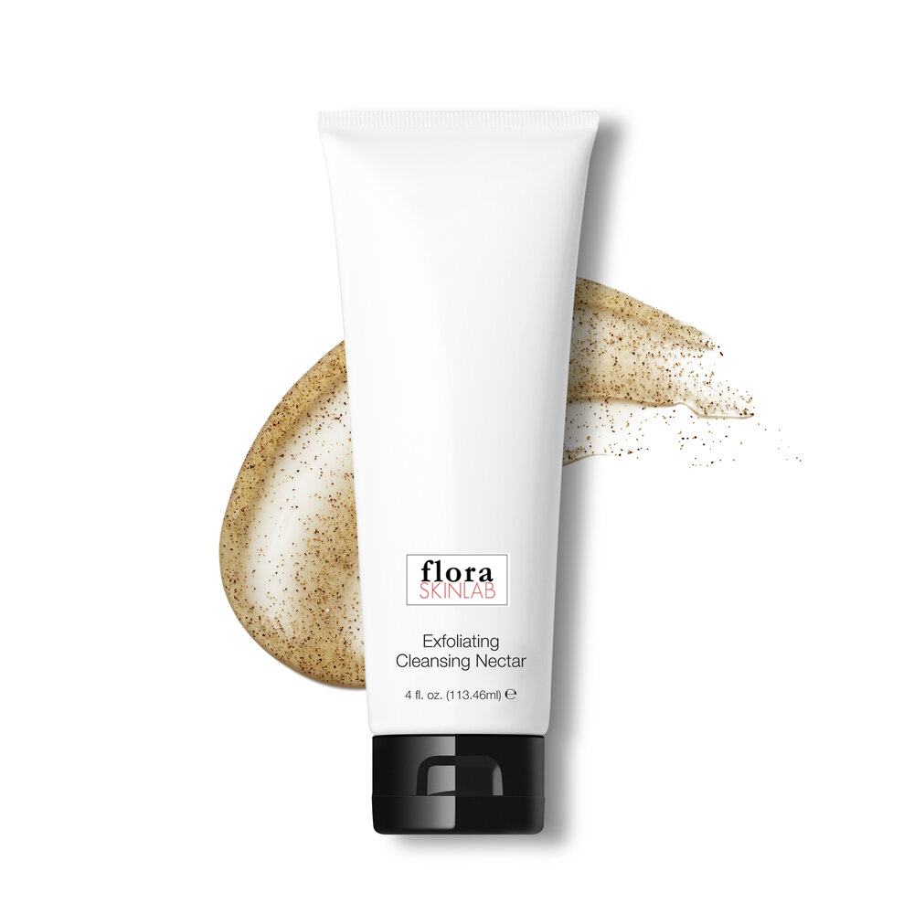 ECO4001-floraskinlab-artisan-skincare-eco-luxe-collection-all-skin-types-acne-vegan-exfoliating-cleanser-natural-skincare-gel