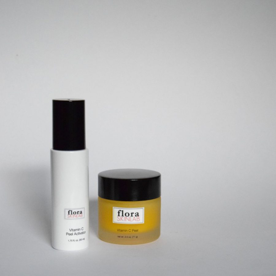 floraskinlab-artisan-skincare-mask-collection-vitamin-c-peel-professional-treatment two step treatment